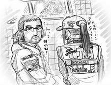 監督&ヨシ子・ピットにて.jpg